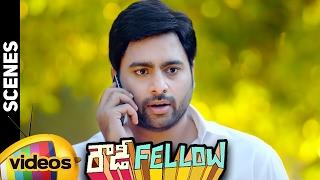 Nara Rohit Investigating Paruchuri Venkateswara Rao | Rowdy Fellow Telugu Full Movie Scenes