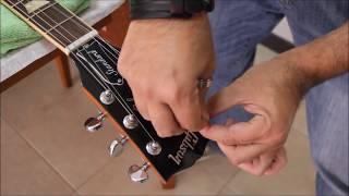 Como Cambiar Cuerdas en Guitarra Eléctrica