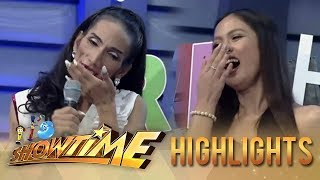 It's Showtime TrabaHula: Lars teaches Odessa how to be ladylike