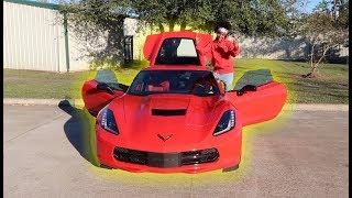 BUYING MY DREAM CAR!!! BRAND NEW 2017 CORVETTE Z51!!!