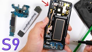 Galaxy S9 Teardown - Variable Aperture Camera lens Revealed!