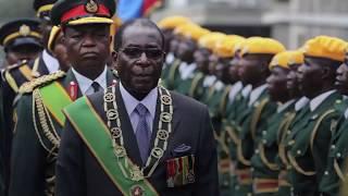 Zimbabweans cheer in streets as President Robert Mugabe resigns