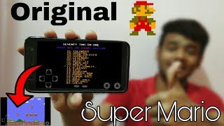 Super Mario ORIGINAL game for Android | Nintendo 1985s game mario bros download
