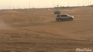 The craziest driving ever at desert safari