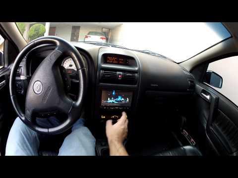 DVD PIONEER 4450 BT NO ASTRA COM GPS AVIC F 220 COM iGO 8 e CONTROLE DE SOM NO VOLANTE