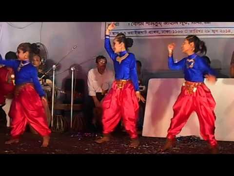 BAFA 60 years ceremony mirpur shakha (Dhum Tana-Rizia Parveen)