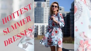 Shopping for Hottest Dresses // What to wear this summer // VLOG Lookbook