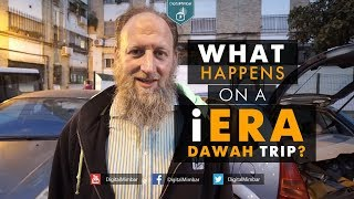 What happens on an iERA dawah trip? | Behind The Scenes In Al-Andalus With Abdurraheem Green