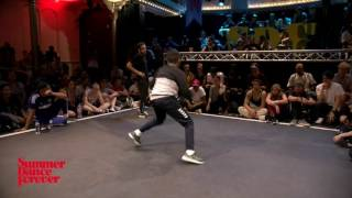 Lilou vs Leelou JUDGE BATTLE Breaking Forever - Summer Dance Forever 2016