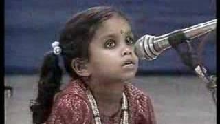 Sri nidhi - Wonder Kid of Carnatic Music