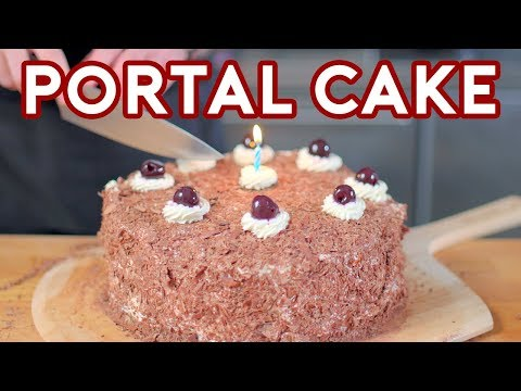 Binging with Babish The Cake from Portal
