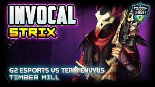 INVOCAL Strix Gameplay  POV | G2 Esports vs Envyus | Timber Mill | Paladins Premier League Week 3