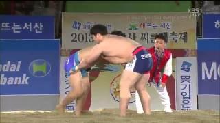 2013 천하장사 씨름대회 (KBS1방영 2013.11.17)
