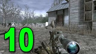 Call of Duty 4 - Part 10 - Ghillies in the Mist (Let's Play / Walkthrough / Gameplay)