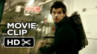 Tracers Movie CLIP - The Chase (2015) - Taylor Lautner Action Thriller HD