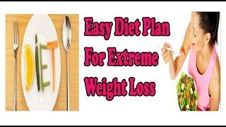 15-20 किलो वजन कम करना चाहते हैं तो आज ही अपनाएँ ये डाइट प्लान, Easy diet plan for fast weight loss