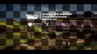 Rapid DAY 1 - European Individual Blitz & Rapid Chess Championship 2017 (P)