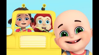 The wheels on the bus | Parenting & Teaching | Education Nursery Rhymes compilation from Jugnu Kids