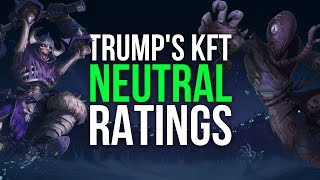 Trump's Knights of the Frozen Throne Neutral Card Ratings
