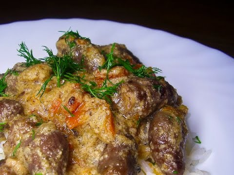 Рецепт приготовления куриной печени в сметане