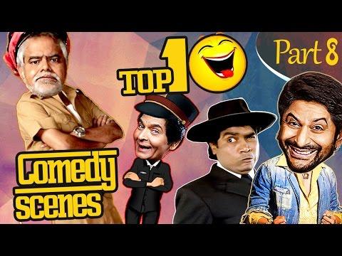 Top 10 Comedy Scenes {HD} Part - 8 - Ft.Johnny Lever | Rajpal Yadav | Sanjay Mishra | #IndianComedy