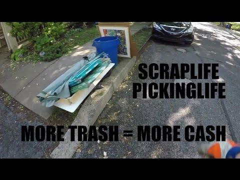 Turning Trash to Cash - Live Garbage Picking and Scrap!