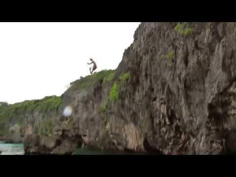 NEKAT Lompat dari ketinggian 20 meter BERBAHAYA