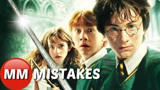 Harry Potter And The Chamber Of Secrets MISTAKES You Didn't See | Harry Potter GOOFS