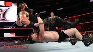 Brock Lesnar takes Braun Strowman to Suplex City: WWE No Mercy 2017 (WWE Network Exclusive)