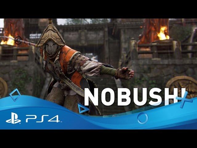 For Honor   Hero Series: The Nobushi Samurai Gameplay Trailer   PS4
