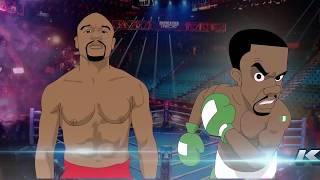 FLOYD MAYWEATHER FIGHT NIGERIA GUY KOJO