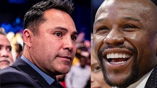 Oscar De La Hoya FIRES BACK At Disrespuctful Floyd Mayweather!
