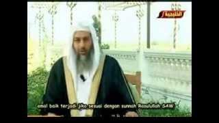 Beribadah serta beramal dengan ilmu yang berdasar Al Qur'an dan Sunnah - Sheikh mustafa al adawy