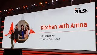 Youtube Pulse First time in Pakistan and Launch Kitchen With Amna Story