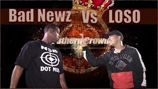 BAD NEWZ vs LOSO hosted by John John Da Don (Full Battle) | BullPen Battle League