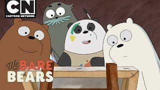We Bare Bears | Panda Paints | Cartoon Network