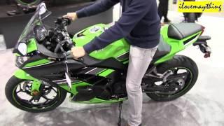 2013 Kawasaki NINJA 300 Special Edition - Seat Test :-)