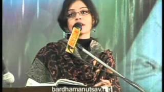 8 Sohini Lodh   Song   Bardhaman Utsav 2011