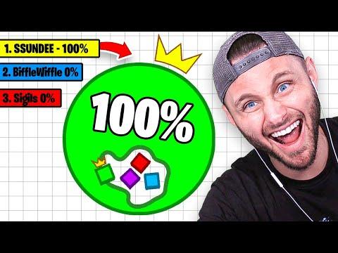 100 CHALLENGE vs MY FRIENDS PAPER.IO