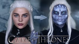 Akgezen Daenerys SFX Makyajı | GAME OF THRONES