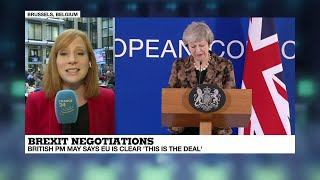 """Brexit negotiations: """"it has not been a very happy summit"""" for Theresa May"""