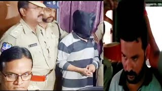 AZAAN INTERNATIONAL SCHOOL MINOR GIRL RAPE CASE ACCUSED ARRESTED BY GOLCONDA POLICE. WEST ZONE DCP A