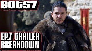 [Game of Thrones] Season 7 Episode 7 Trailer Breakdown | GoT Season Finale Teaser Trailer Dragonpit