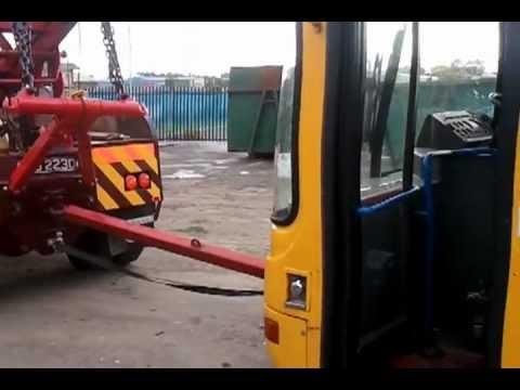 KR Walsh Brothers  Scraping an old BelleVue school bus 18/1012