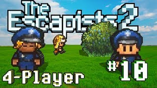 The Escapists 2: 4-Player - #10 - Release Day (4-Player Gameplay)