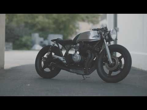 A new Honda CB750 cafe-racer build from Hookie Co.