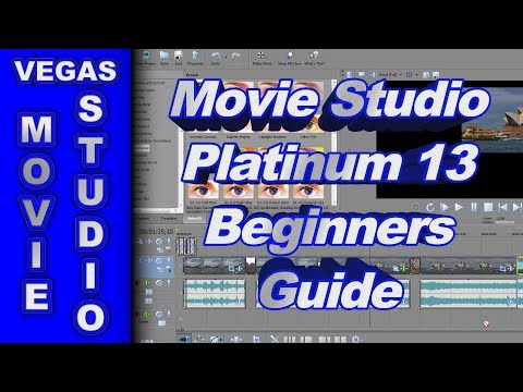 Beginners Guide for Sony Movie Studio Platinum 13 (How to Use)
