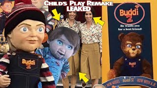 Child's Play Remake LEAKED Pic | Full Look At Buddi Dolls, Buddi Bear, Theories & MORE W/ Damn Dude