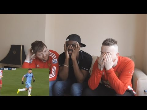 Manchester United fans React To Manchester City vs Monaco 5 3 All Goals & Highlights 21.2.2017