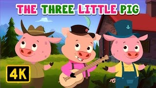 Three Little Pigs | Bedtime Stories | English Stories for Kids and Childrens